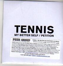 (CU233) Tennis, My Better Self / Petition - DJ CD