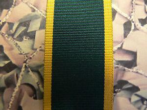 Full Size Medal Ribbon - Territorial Efficiency 1921