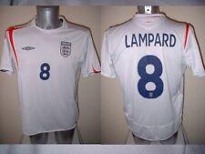 Inglaterra Frank Lampard Camisa Jersey Football Soccer adulto medio Chelsea 2006 Top