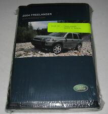 2004 Land Rover Freelander Owners Manual Set 04 New +case