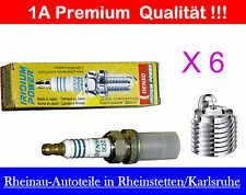 Zündkerze 6xDENSO Iridium Power-IK 22- NEU-PORSCHE 911,SAAB 9-5,900,diverse Mod