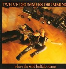 Twelve Drummers Drumming(Vinyl LP)Where The Wild Buffalo Roams-VG/Ex
