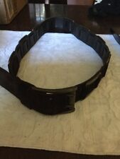 womens leather belts medium, Double Leather And Buckled