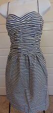 $298 Polo Ralph Lauren Striped Lined Nautical Cruise Summer Beach Short Dress 10