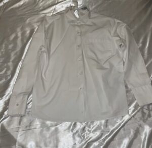 Valentino Bow Back White Button Down Shirt Authentic