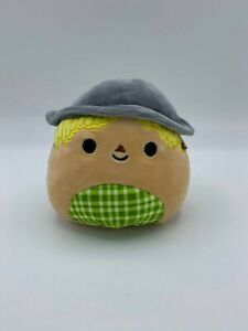 """Squishmallow RARE Hank The Scarecrow Halloween Fall Lovey Baby 4.5"""" Plush Toy"""