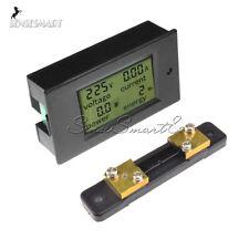50A LCD Digital Volt Watt Current Power Meter Ammeter Voltmeter Meter+Shunt