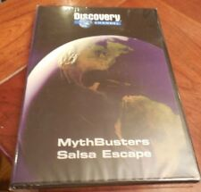 DISCOVERY MYTH BUSTERS SALSA ESCAPE DVD NEW SEALED