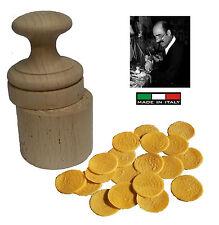 Stampo per corzetti ARTIGIANALE NON INDUSTRIALE inciso in legno - made in Italy