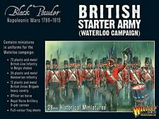Warlord Games Black Powder British Starter Army Waterloo Campaign