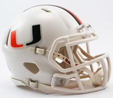 Miami Hurricanes Speed Mini Helmet Replica
