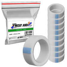 10 Piece Refill - RE-GEN First Aid Medical Surgical Tape Low Allergy 1.25cm x 5m