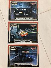 Disney Star Wars Weekends 2015 Pixar Cars Trading Cards New