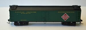 """Broadway Limited HO GACX 53'6"""" Wood Express Reefer. REX 1308. Little use."""