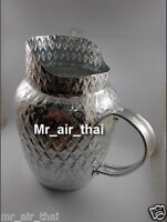 Antique Pitchers Vintage Jar Water Dispenser Aluminum Water Jug water Containers