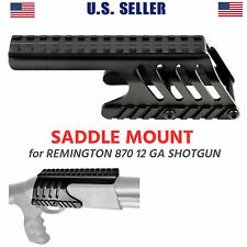 Remington 870 Saddle Mount Forend Top Rail For RDS Sight, Alumuinum US Seller