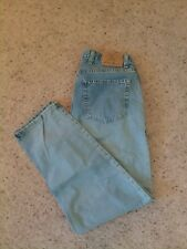 Eddie Bauer Womens Mom Jeans Size 14 Petite Button Fly High Waisted Straight Leg