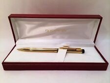 Sheaffer Gold Mechanical Pencil New in White Dot Red Box Gift Idea