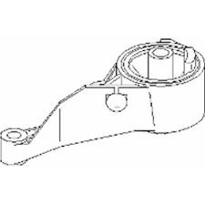 Lagerung Motor vorne - Topran 206 157