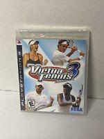 Virtua Tennis 3 (PS3) Sony PlayStation 3 - SEGA - Brand New Factory Sealed