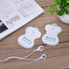 10x Pads Replacement for Electric Therapy Tens Massager Units Electrode Patches
