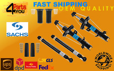 4x SACHS Front Rear Shock Absorbers set Dampers +COVERS FORD FIESTA VI MKVI MK6