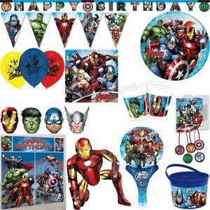 Mighty Avengers Kindergeburtstag Party Set Deko Hulk Captain America Iron Man