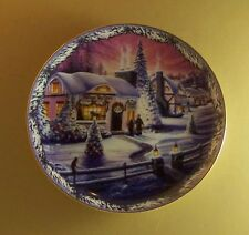 Christmas in the Village The Village Toy Store Plate #1 Renee McGinnis + Coa