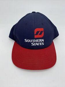 Southern States Farmer Feed Baseball Cap Trucker Hat Snapback Mesh Back