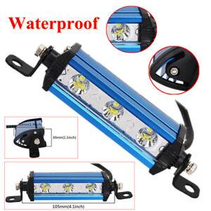 Ultra Thin Single Row Spot Work Light Bar Spotlight Off-Road 6000K Waterproof