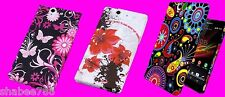 Lot 3 Rubberized Cool Back Skin Hard Protect Cover Case Sony Xperia Z