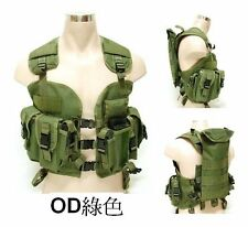 US MILITARY SWAT Load Navy Seal Assault Tactical Vest OD GREEN