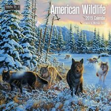 2019 American Wildlife Wall Calendar, Wildlife by Wells Street by LANG