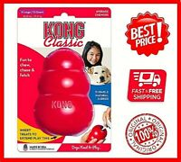 KONG CLASSIC Red Dog Toy treat rubber X Large, New, Free&Fast Ship