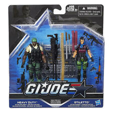 G.I.JOE 50th ANNIVERSARY: HEAVY CONFLICT: HEAVY DUTY & STILETTO
