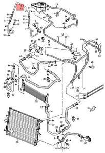 Genuine AUDI VW A5 S5 Cabriolet Q7 Phaeton Coolant Pipe 059121086P