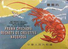 Shrimp Prawn Chips Premium Quality 6-pack 227g Each PIGEON BRAND Crackers NO MSG