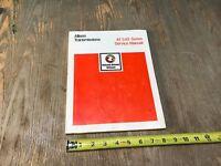 Allison Transmissions AT540 AT 540 Series Service Manual SA1241E 1974