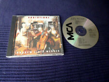 CD Andrew Lloyd Webber Variations Don Airey Gary Moore Colosseum II Deep Purple