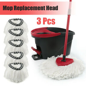 NEW 3Pcs Mop Refill Head for Vileda Wring Mopping Replacement Clean Microfibrer