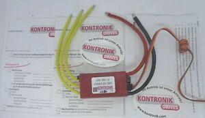 Kontronik JIVE 100 LV ESC (4604) (04270) speed controller new in the box