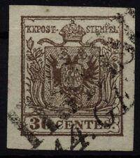 LOMBARDEI-VENETIEN 1850 30C, HP, Type III. TREVISO Stempel. Schönes Stück!