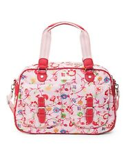 *NEW* Oilily Classic Ivy CARRY ALL BAG Purse in LIGHT ROSE PINK Diaper Tote ?