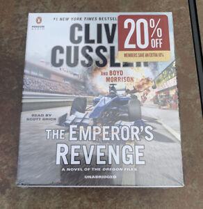 Clive Cussler -- The Emperor's Revenge Audio CDs ( Unabridged 10 Discs ) SEALED