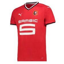 Maillot de football de clubs français rouge taille L