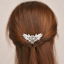 Women Fashion Crystal Rhinestone Hair Barrette Clip Hairpin Jewelry Accessories