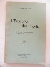 L'Evocation des Morts Charles Lancelin Les 7 voies d'Intercommunication