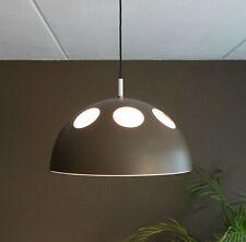60s RAAK pendant mushroom lamp El Duomo brown Dutch Design mid-century B-1057