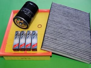 gr. Inspektionspaket Filterset Filtersatz Skoda Superb 3U 2.0 85kW/115PS