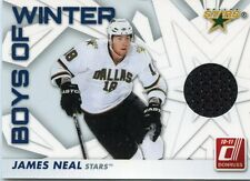 2010-11 DONRUSS BOYS OF WINTER JAMES NEAL GAME WORN SWATCH